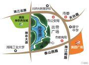 奥园一号湖畔交通图