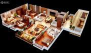 紫薇永和坊4室2厅2卫206平方米户型图