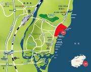 碧桂园东海岸交通图