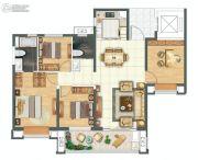 金科城4室2厅2卫142平方米户型图
