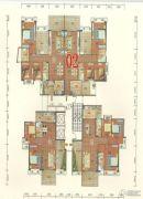 碧海园3室2厅2卫140--150平方米户型图
