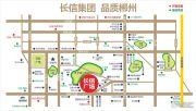 长信广场交通图