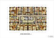 昆明置信银河广场0室0厅0卫0平方米户型图
