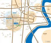 中冶熙城商街交通图