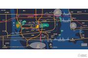 融创溪湾首府交通图