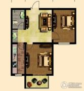 弘达明尚・青年公社2室2厅1卫0平方米户型图