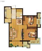 新松・茂樾山2室2厅1卫0平方米户型图