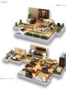 龙湖拉特芳斯3室2厅2卫94平方米户型图
