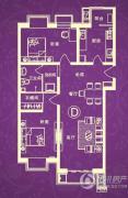 汇金・世界城2室2厅1卫110平方米户型图