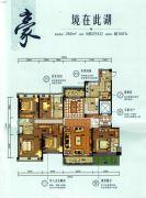 碧桂园山湖城5室2厅4卫260平方米户型图