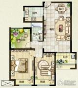 绿都万和城2室2厅1卫0平方米户型图