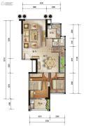 泰安・锦绣江南花园4室3厅2卫158平方米户型图