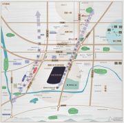 西安龙湖双珑原著交通图