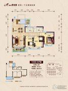 柳州碧桂园3室2厅2卫109平方米户型图