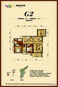 俊发盛唐城3室2厅2卫99--121平方米户型图
