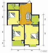 华普城3室1厅1卫105平方米户型图