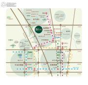 恒大城・汇金街交通图