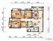 府前雅居苑4室2厅3卫140平方米户型图