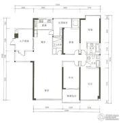 晟安・丽湾名邸4室2厅3卫200--215平方米户型图