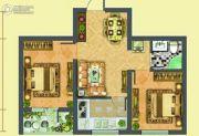 假日欧洲2室2厅1卫56平方米户型图