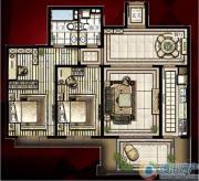 西单上国阙2室2厅2卫0平方米户型图