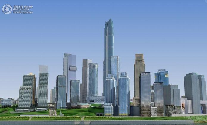 重庆国华金融中心效果图