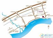 山海同湾交通图