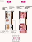 碧桂园克拉广场0室0厅0卫45平方米户型图