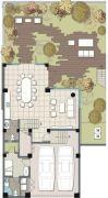 麓湖沉香谷0室3厅2卫0平方米户型图