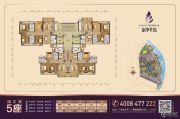 金沙半岛4室2厅2卫90--114平方米户型图