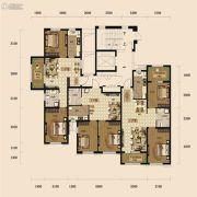 中铁丁香水岸2室2厅1卫83平方米户型图