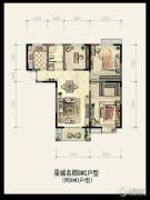 景城名郡0室0厅0卫0平方米户型图