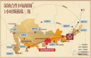 华辉滨江花城交通图