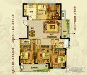 钱江绿洲4室2厅2卫143平方米户型图
