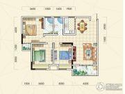 中观国际3室2厅2卫112平方米户型图