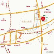 碧桂园・山河城交通图
