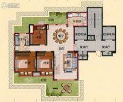亿邦豪庭7室3厅3卫248平方米户型图