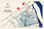 鸿泰西岸中央交通图