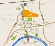 江津鲁能领秀城一街区交通图