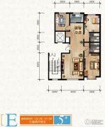 清苑尚景3室2厅2卫0平方米户型图