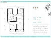 北京怡园2室1厅1卫70平方米户型图