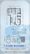 御景湾3室2厅2卫92平方米户型图