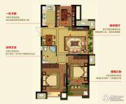 明月湾3室2厅1卫82--92平方米户型图