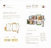 碧桂园天玺湾5室2厅3卫177平方米户型图