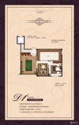金峰凤麟府1室1厅1卫95平方米户型图