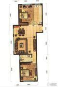 秋实�Z�o汇2室2厅1卫0平方米户型图