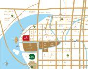 苏州绿地中心1号公馆交通图