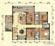 幸福里4室2厅2卫175--199平方米户型图