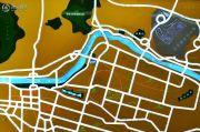 银河国际居住区交通图