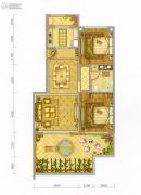 大理王宫别院2室2厅1卫83平方米户型图